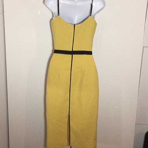 78e5ec24786 Emma Dress the Population shift dress yellow